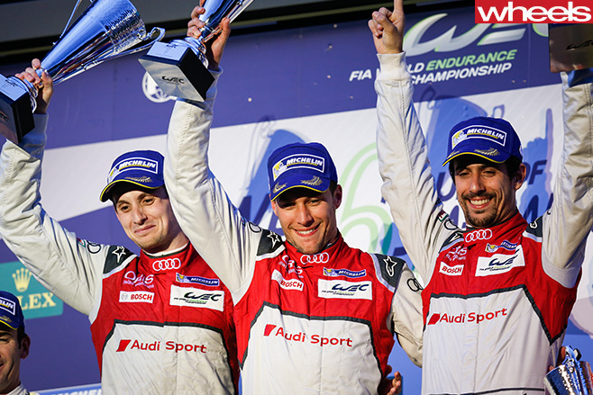 Competition -auto -FIA-WEC-2016-winners