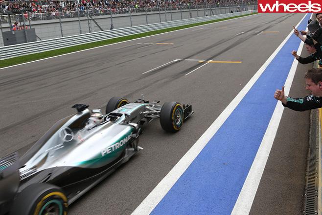 Rusland -F1-Mercedes