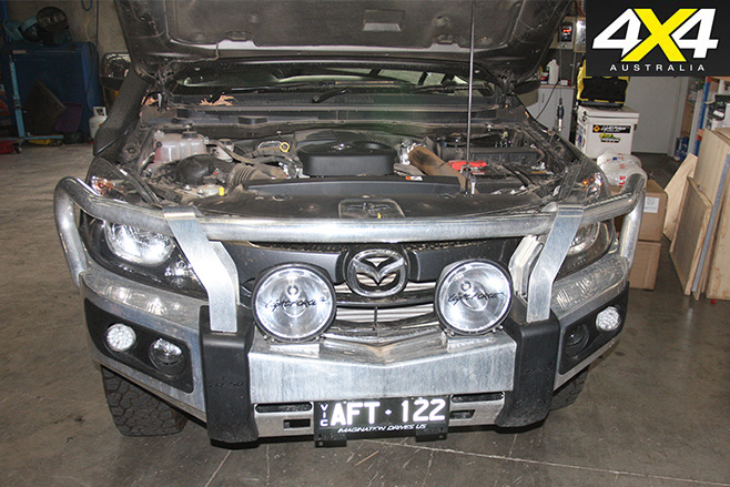 Mazda Bt-50 Lightforce Genesis spotlights