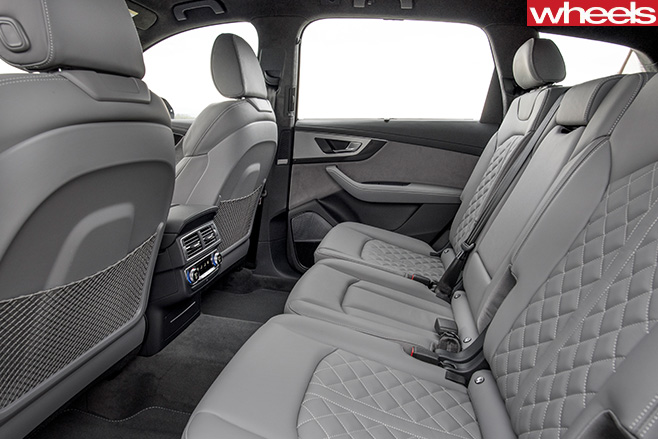 Audi -SQ7-rear -seats