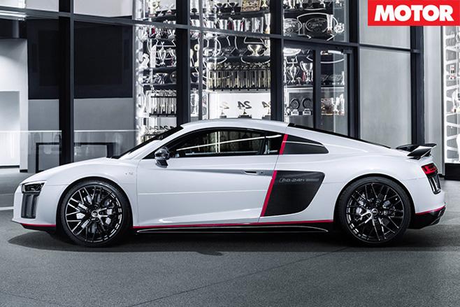 Audi R8 V10 Plus selection N24 side