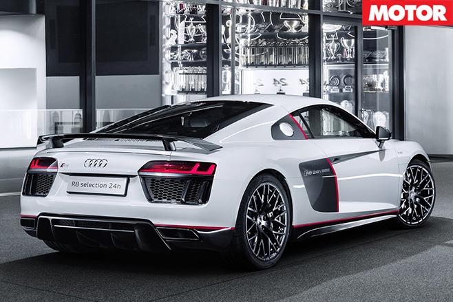 Audi R8 V10 Plus selection N24 rear