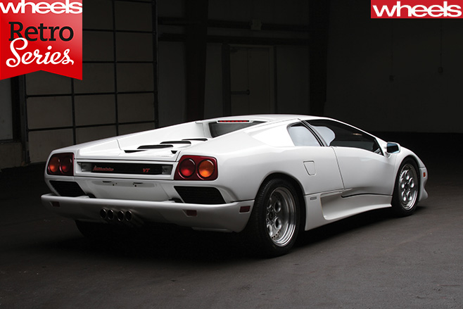 Lamborghini -Diablo -rear -side