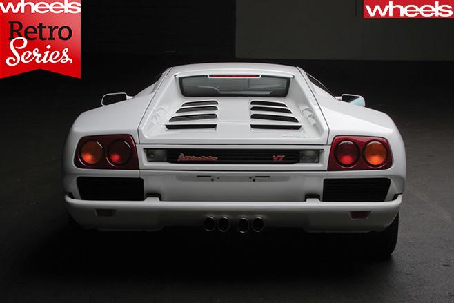 Lamborghini -Diablo -rear