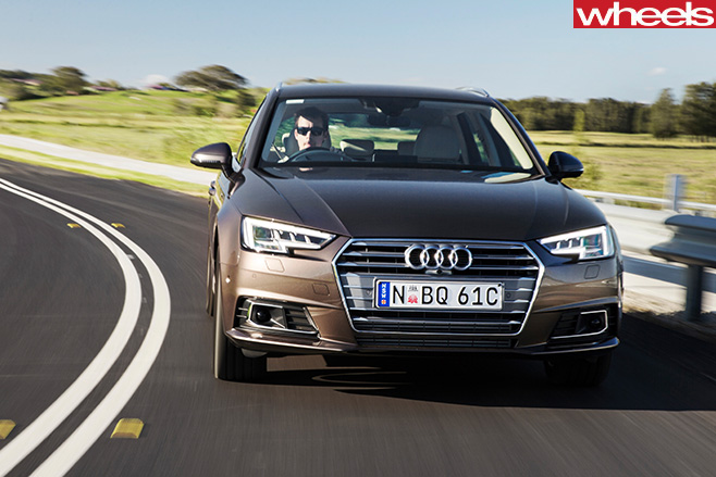Audi -A4-Avant -front