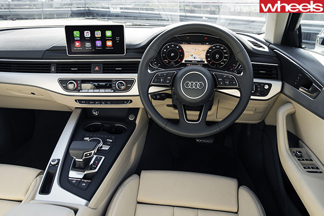 Audi -A4-Avant -interior