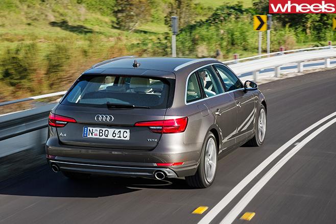 Audi -A4-Avant -rear -side