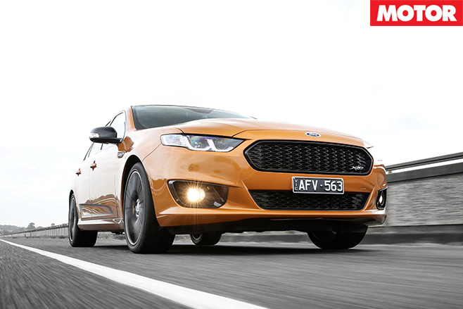 Ford falcon XR8 sprint front driving