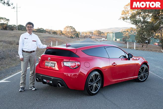 Tetsuya Tada with Toyota 86 shooting brake