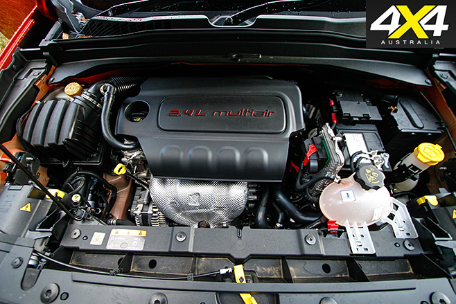 Jeep Renegade Trailhawk engine
