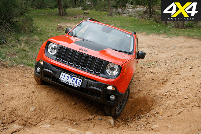 Jeep Renegade Trailhawk off-road