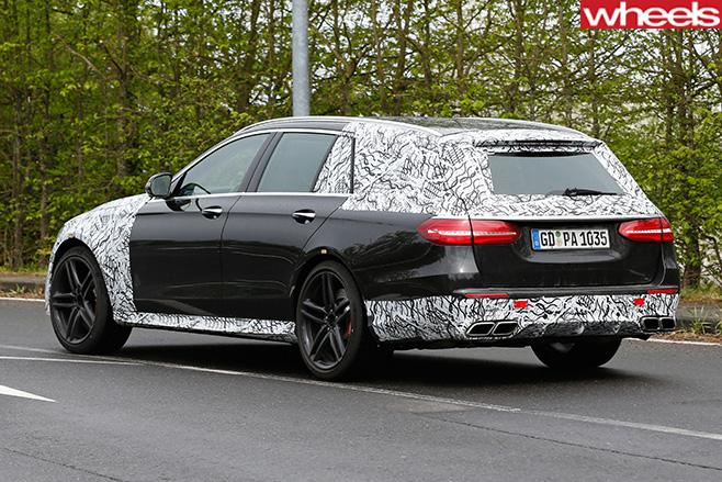 Mercedes -Benz -E-Class -rear -side