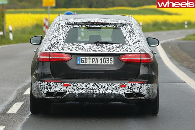 Mercedes -Benz -E-Class -rear -driving