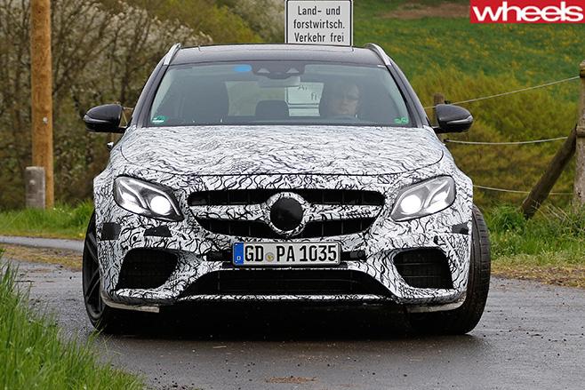 Mercedes -Benz -E-Class -front -on