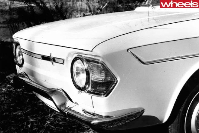 Older -car -1966-front -fascia