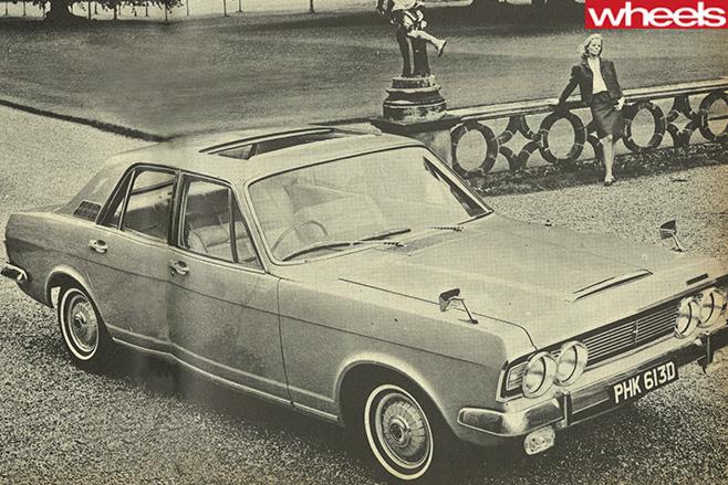 Older -car -1966-front -top