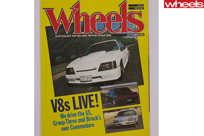 Wheels -magazine -brock -cover