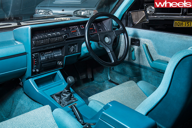 Peter -Brock -VK-Commodore -HDT-interior