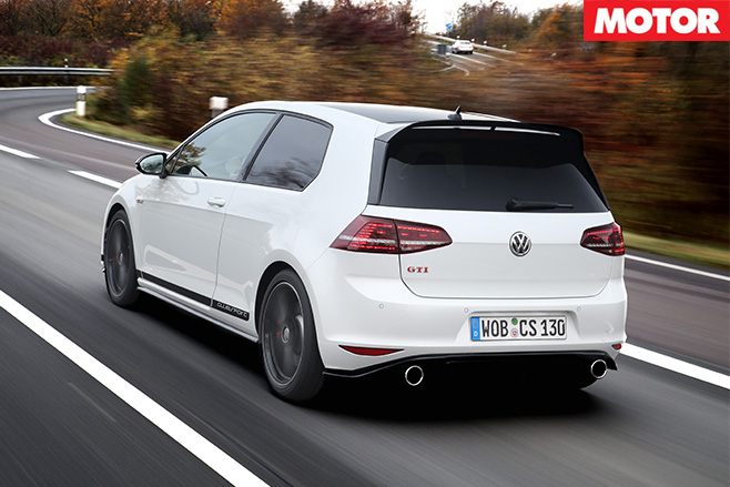 Volkswagen Golf GTI Clubsport review rear