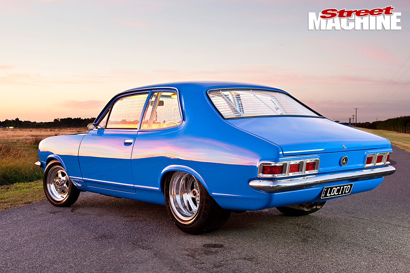 Holden -LJ-Torana -Coupe -side -rear