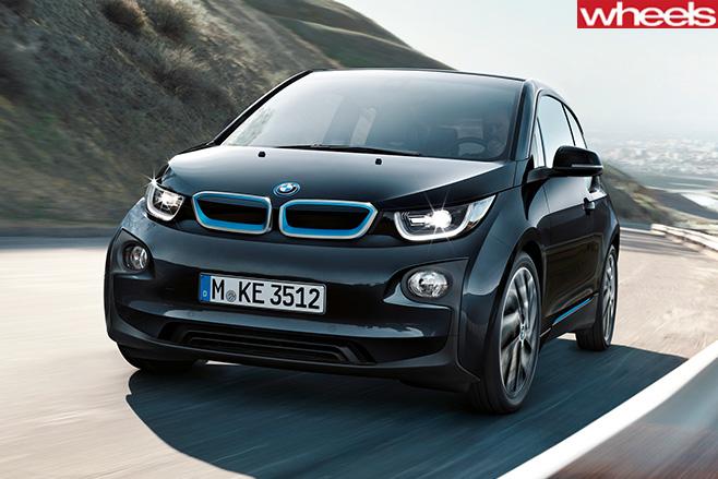 BMW-i 3-front -side