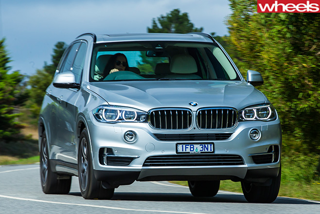 BMW-x 5-front