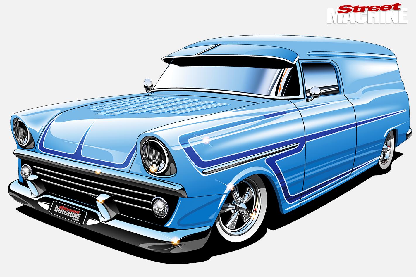 Holden -FB-van -design -front