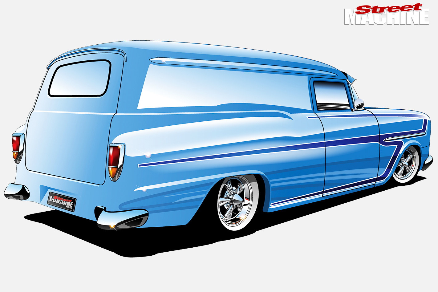 Holden -FB-van -design -rear