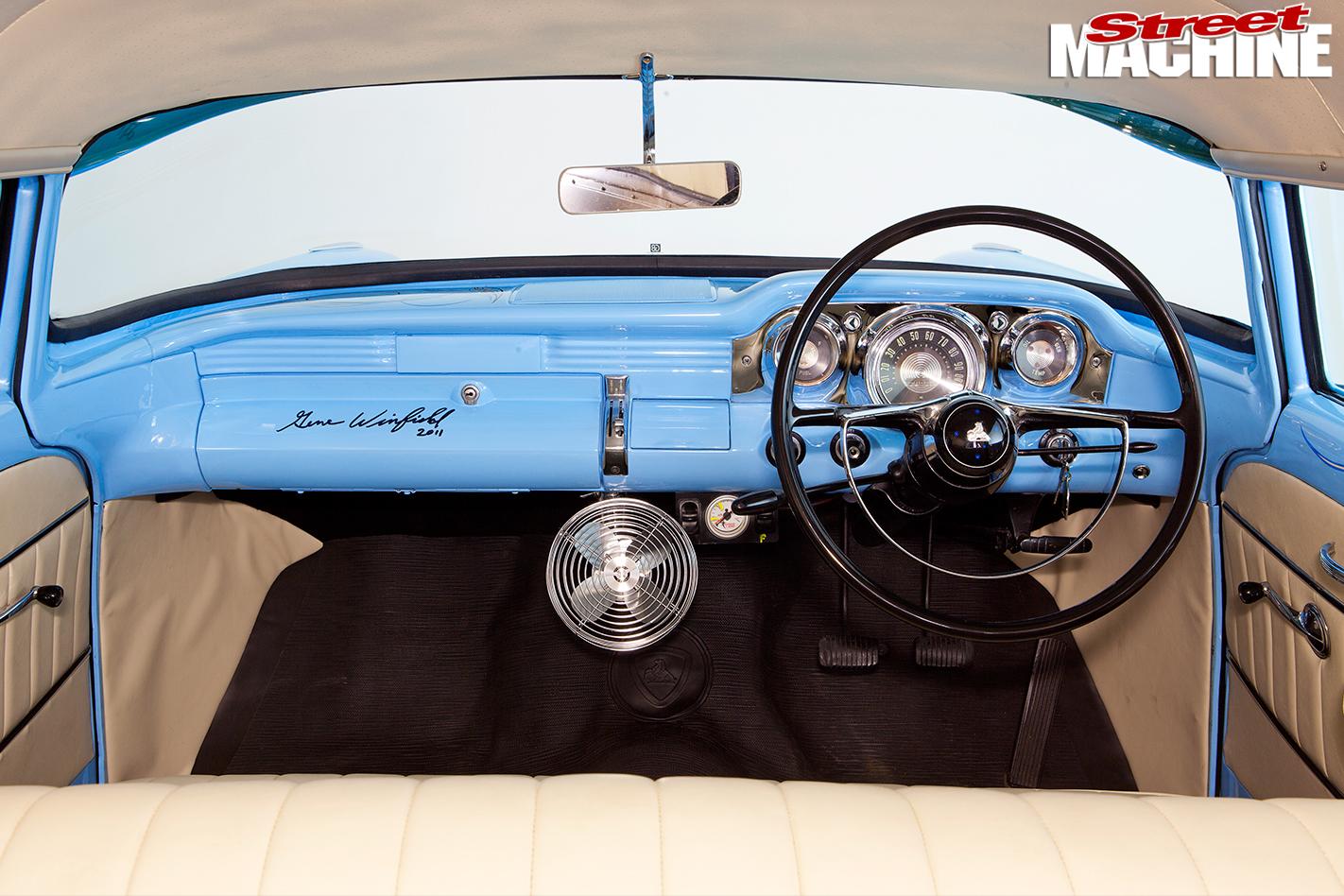 Holden -FB-van -interior -dash