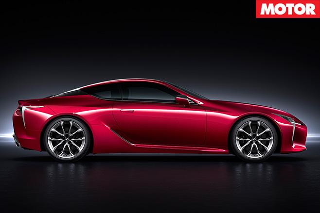 Lexus LC 500 side