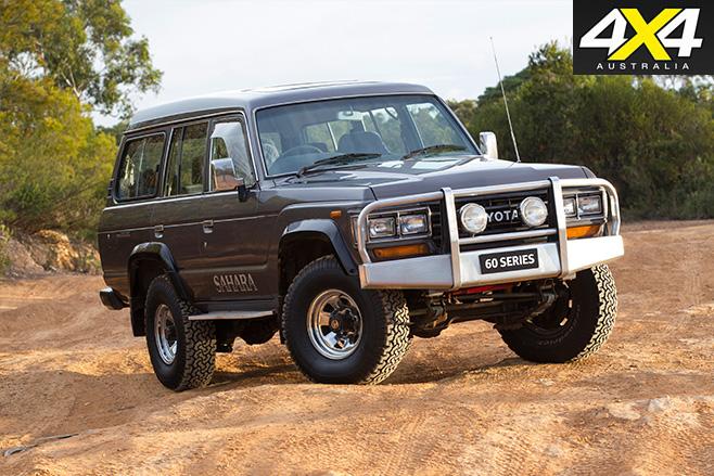 Toyota Land Cruiser HJ61 Sahara
