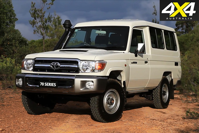 Toyota Land Cruiser VDJ78 Troopcarrier
