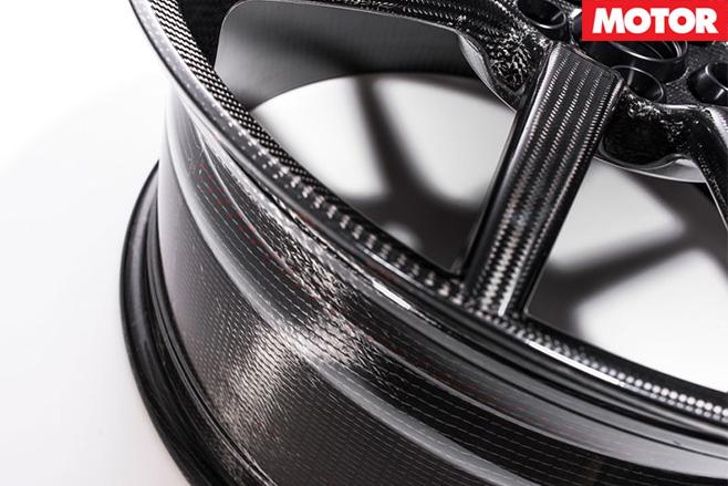 Ford GT wheels closeup