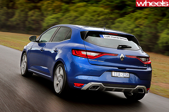 Renault -Megane -GT-rear -side