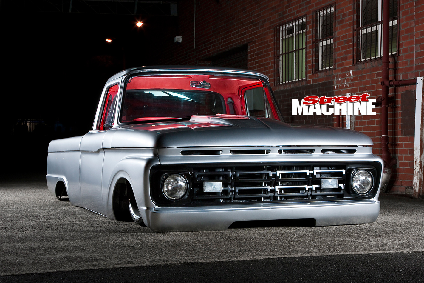 homebuilt slammed ford f100 pickup. Black Bedroom Furniture Sets. Home Design Ideas