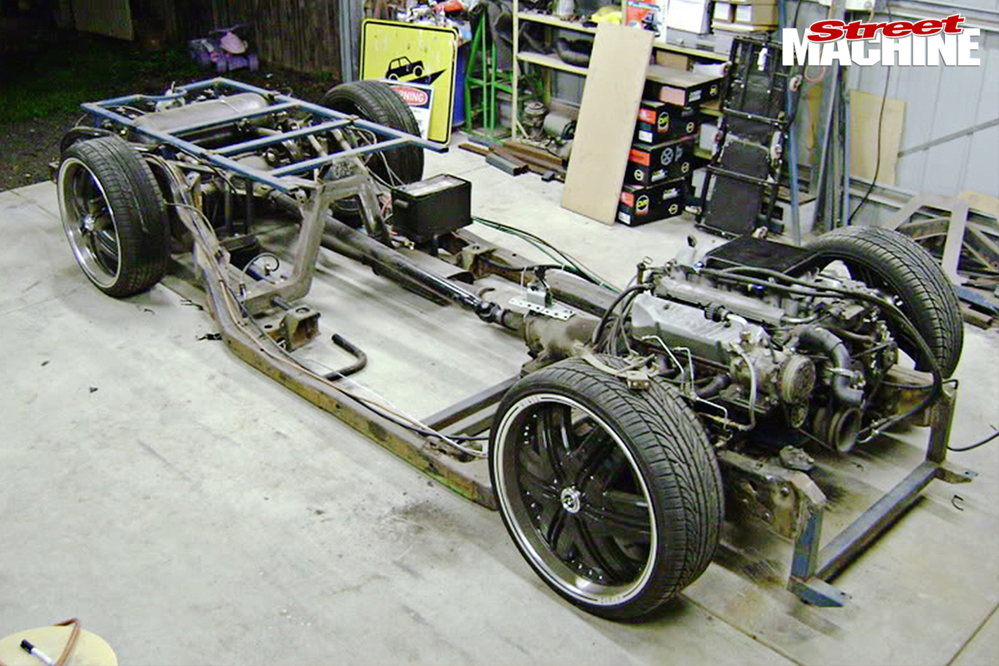 Ford -F100-chassis