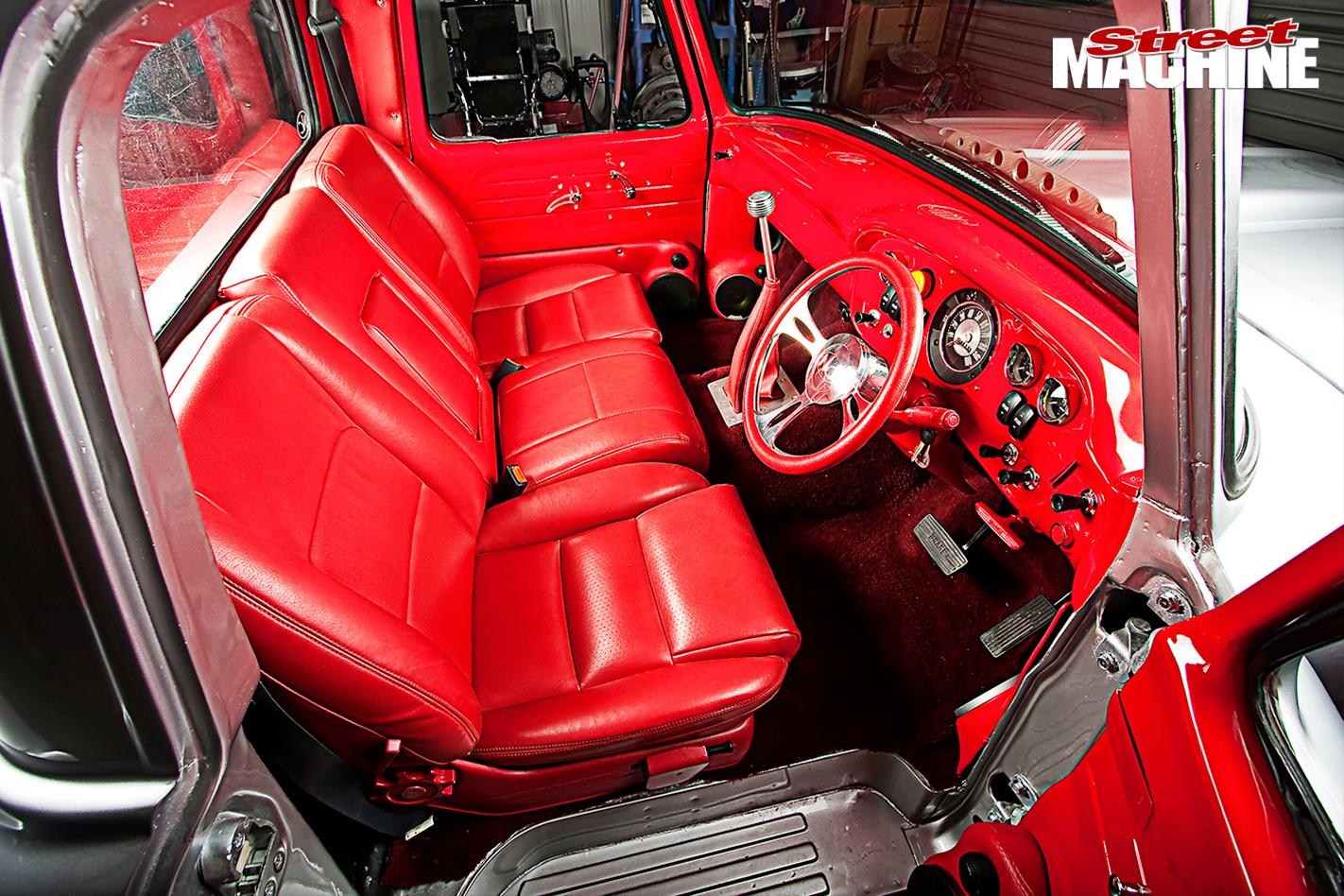 Ford -F100-interior