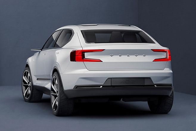 Volvo concept 40 rear side