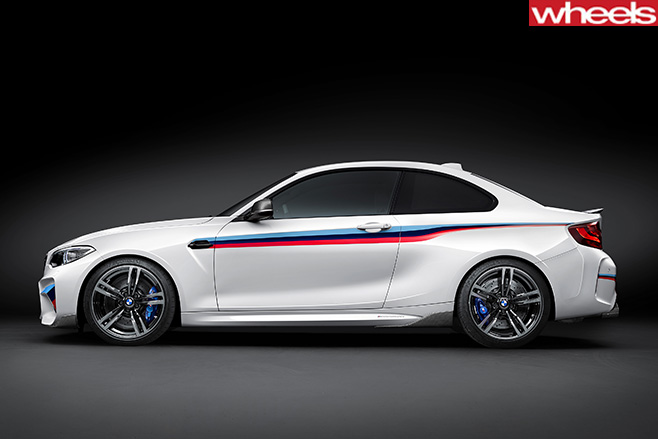 BMW-M2-Car -Side -profile