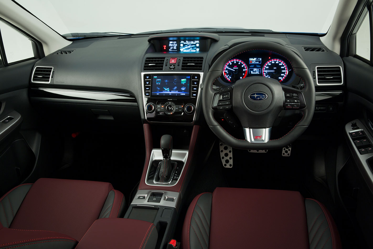 Subaru -Levorg -STI-interior