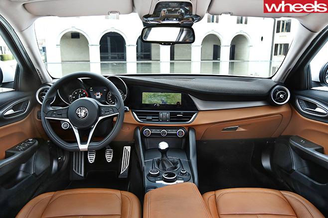 Alfa -Romeo -Giulia -interior