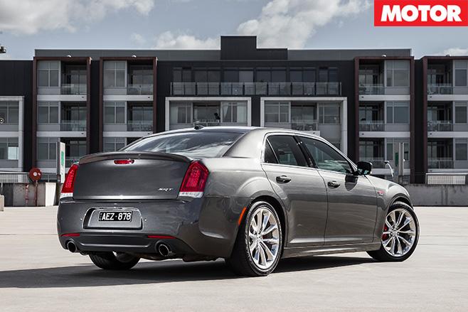 Chrysler 300 SRT rear