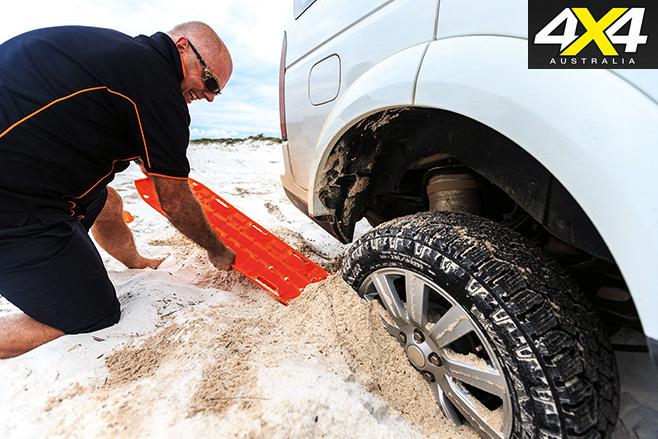 Maxtrax digging