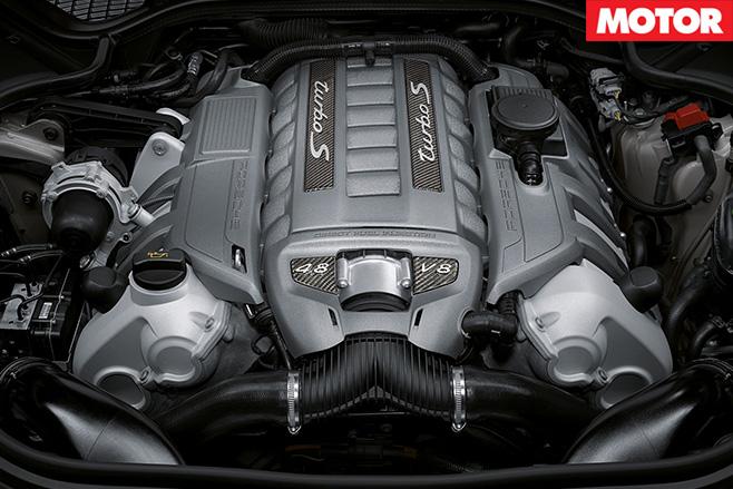 Porsche -engine