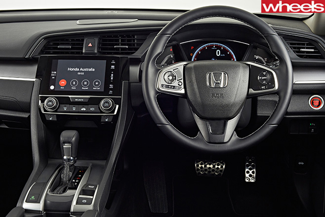 Honda -Civic -RS-interior