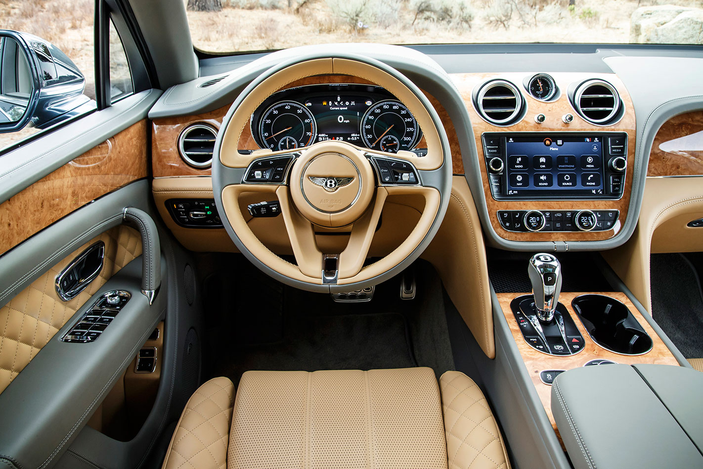 Bentley -Bentayga -interior