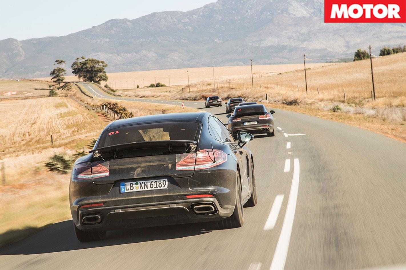 2017-Porsche -Panamera -tracking