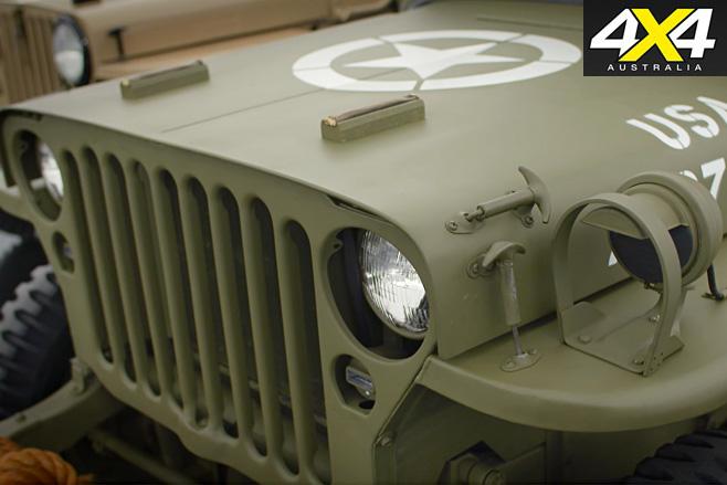 WW2 Jeep front