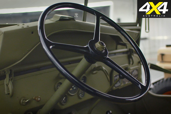 Willys MB Jeep interior