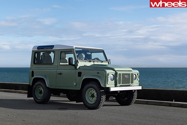 Land -Rover -Defender -driving -road